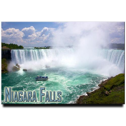 Niagara Falls fridge magnet New York Buffalo travel souvenir Canada Ontario