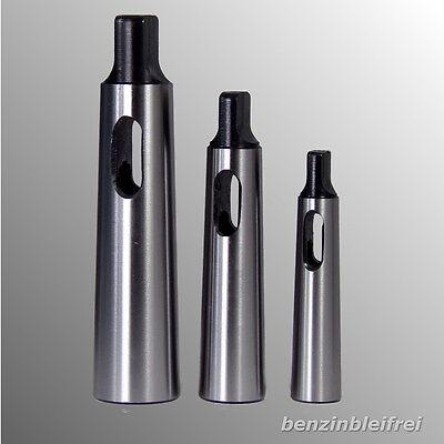 3x Reduzierhülsen Adapter Ständerbohrmaschine von MK 4-3 3-2 2-1 NEU