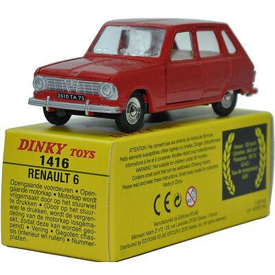 DINKY TOYS RENAULT 6 SPAIN N° 1416 E ATLAS