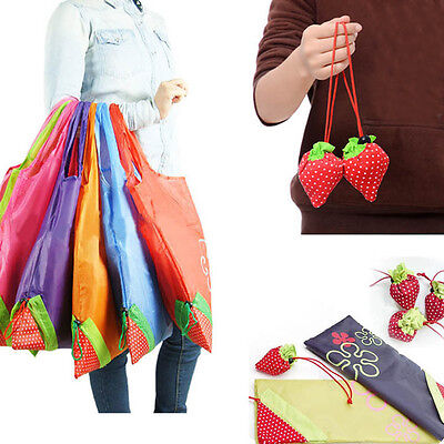 Folding Fold Up Wiederverwendbare kompakte Eco Recycling Shopping Obst Tasche