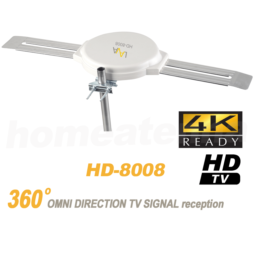 LAVA HD-8008 Omnipro Omni-Directional Five Star 200 Miles Ou