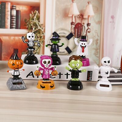 Halloween Solar Dancing Toys (Solar Power Dancing Halloween Doll Swinging Bobble Car Decoration Toys)