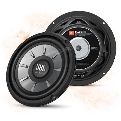 JBL STAGE 810 - 20cm/200mm Car Bass/Subwoofer Lautsprecher - 800W MAX