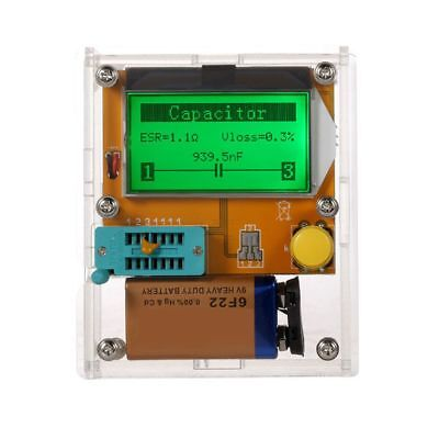 Lcd Esr Transistor Tester Resistor Inductor Capacitor Scr Mos Tube Triode