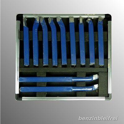 11x Drehmeissel Drehstahl Set 10x10mm verschiedene Ausführungen Hartmetall NEU