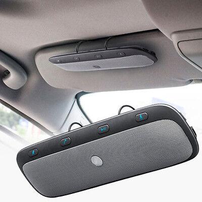Wireless Bluetooth Hands Free Car Auto Kit Speakerphone Speaker USB Charge