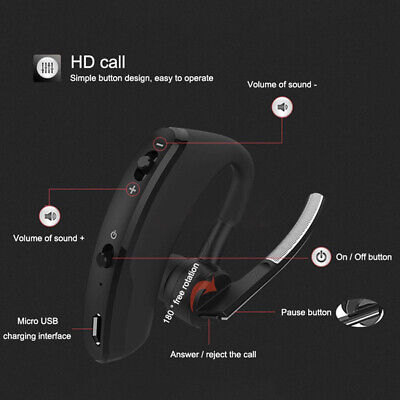 Walkie Talkie Wireless Bluetooth Headsets Two Way Radio for Baofeng 888S UV5R