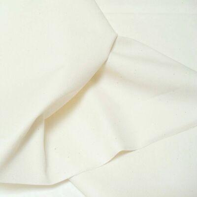 Canvas in Creme fester BaumwollStoff für Polster Stuhl Sofa Matratze Meterware - Polster Stoff Sofa