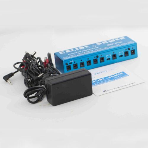 caline p1 guitar pedal board effect power supply isolated output 9v 12v 18v ebay. Black Bedroom Furniture Sets. Home Design Ideas