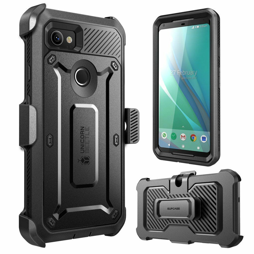 best service 46e90 3f4d9 Details about Google Pixel 2 XL Case, SUPCASE UBPro Rugged Holster Cover  with Screen Protector