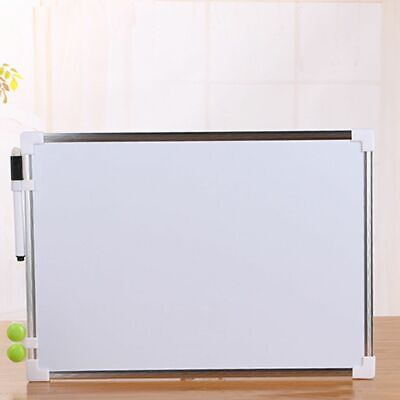 Durable Portable Double Side Dry Erase Writing Board Office School Whiteboard