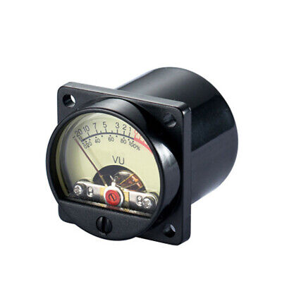 High-precision Panel Vu Meter Power Amplifiers Audio Db Level Header Backlight