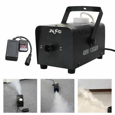 Mini Wirless Remote Control 400W Smoke Fog Machine DJ Party Show Stage Fogger](Mini Fog Machine)