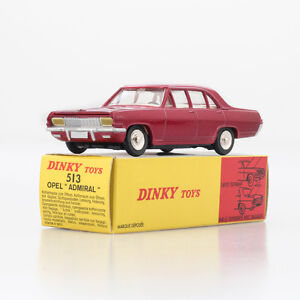 Atlas Dinky Toys 513 Opel ADMIRAL Alloy Diecast car model1:43 collection memory