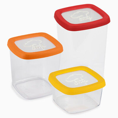 Snips Aroma Food Containers Storage Jar Chef Series Airtight Seal Made in (Airtight Storage Container Series)
