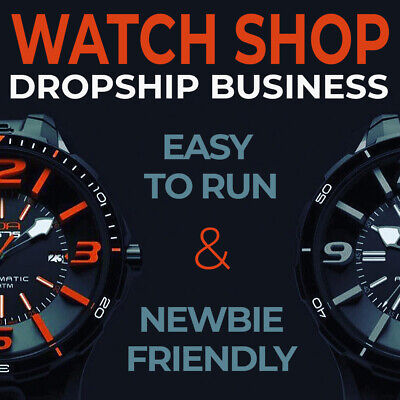 Watch Shop - Turnkey Dropshipping Business Website