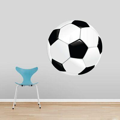 Soccer Ball Printed Wall Decal - Sports, Teams, Athletes, Bedroom, Locker (Locker Room Bedroom)
