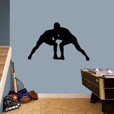 Wrestlers Wall Decal - Sports, Team, Athlete, Man Cave, Bedroom, Locker (Locker Room Bedroom)