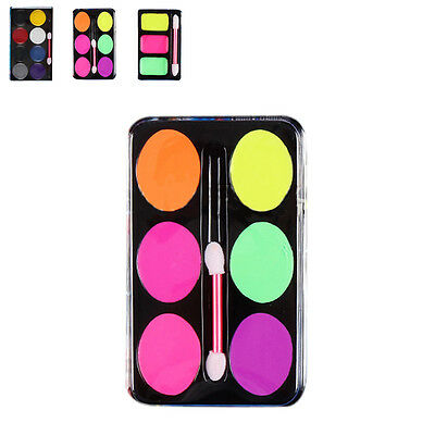 Technic Face & Body Paint Palette Set Kit Halloween Makeup Painting Devil Witch