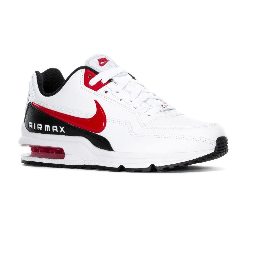Nike Air Max LTD 3 WhiteUniversity RedBlack BV1171 100 Mens Running Shoes