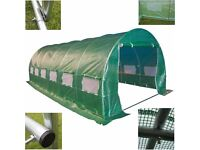 NEW 10 ft x 20 ft POLY-TUNNEL ( 3 metres wide x 6 metres long )