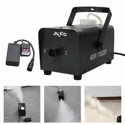 Mini Wirless Remote 400W Smoke Fog Machine DJ Home Party Show Stage Light Fogger](Mini Fog Machine)