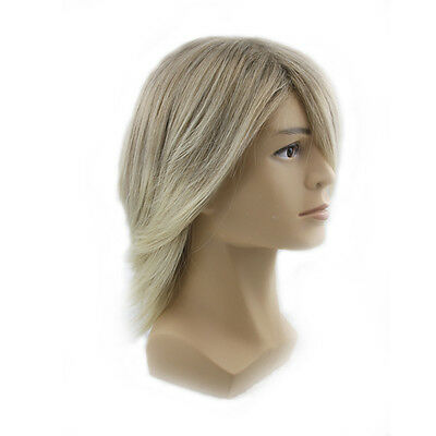 Men's Fashion Handsome Slight Wave Curly Short Wigs Halloween Cosplay Party  ko](Men's Halloween Wigs)