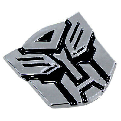 3D Logo Protector Autobot Transformers Emblem Badge Sticker Decal Car Accessory