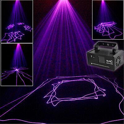 SUNY Mini IR Purple DMX512 Stage Lighting DJ Dance Party Home Projecter Light