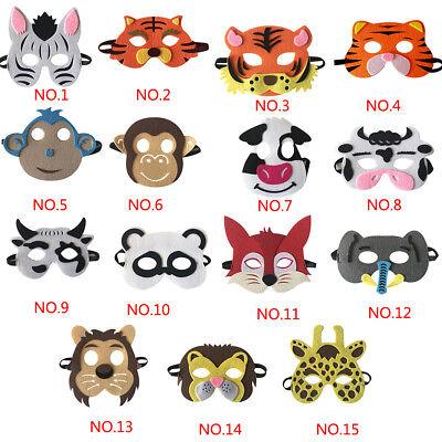 Cartoon Animal EVA Masks for Kids Halloween Xmas Costume Birthday Party Props