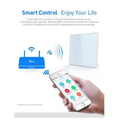 Z-wave 2CH EU Wall Light Switch Home Automation Wireless Smart Remote Control