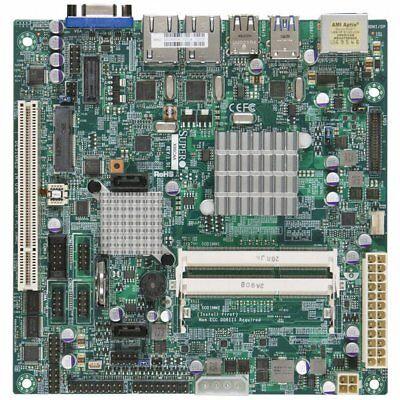 Nm10 Mini (*NEW* Supermicro X9SCAA Motherboard Mini-ITX Intel NM10 Express Socket FCBGA559)