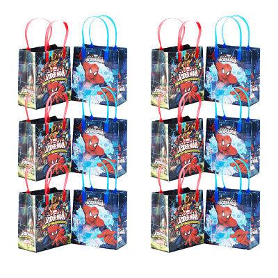 Marvel Spiderman Goodie bags Goody Bags Gift Bags Party Favor Bags - Spiderman Party Bags