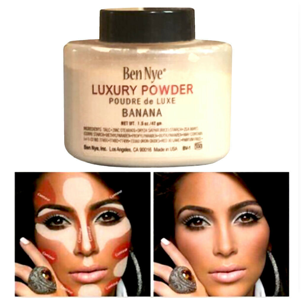 Ben Nye Luxury Banana Powder Bottle Face Makeup 1.5 oz/42 g