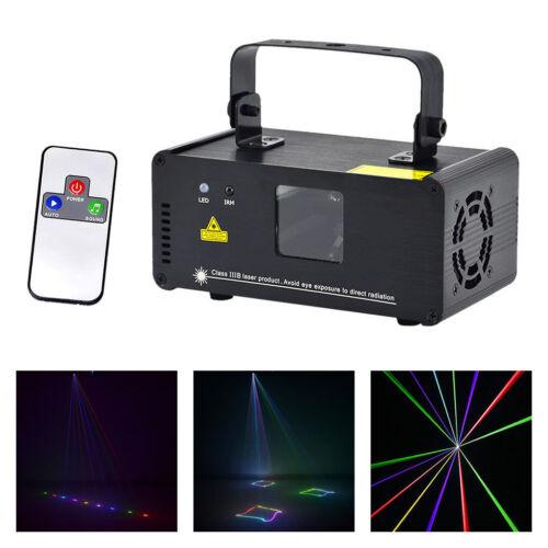SUNY Mini IR RGB DMX 8CH Laser Lights DJ Party Bar Show Proj
