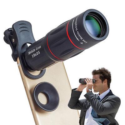 Apexel 18x Optisch Kamera Zelle Handy Zoomobjektiv Handbuch Teleskop HD Iphone