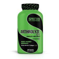 Species ARTHROLYZE ELITE 300 Capsules JOINT & Connective Tissue Support REPAIR