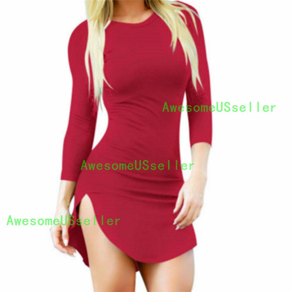 Купить Daisland - Women Winter Sexy Fashion Evening Cocktail Bodycon Slip Shift Sheath Skirt Dress