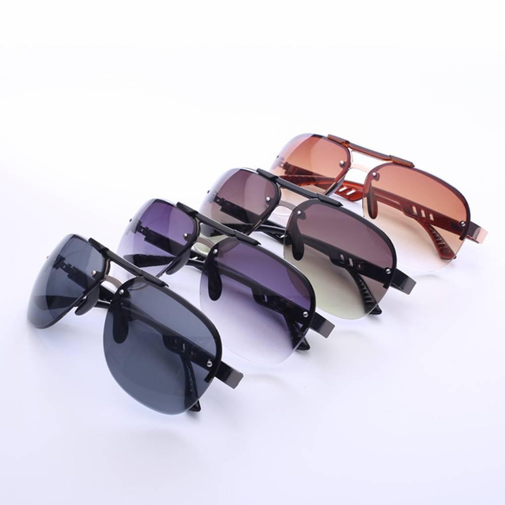 8bab3ddec19 Details about Luxury Women Men Eyeglasses Sunglasses metal Frame Clear Lens Rimless  Glasses