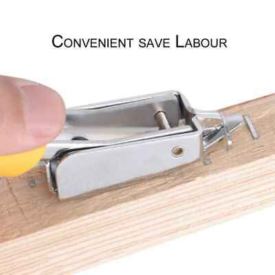 Professional Push Style Staple Remover Heavy Duty Steel Staple Easy Remover Tool
