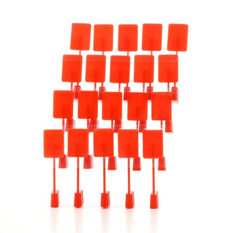 SIRONA 6176536 XIOS PLUS Bitewing Intraoral Sensor Holder Tabs Red 100 Pack