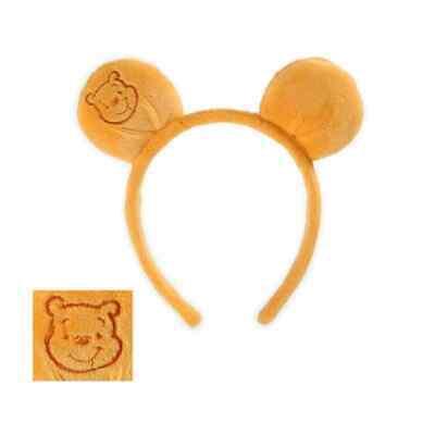 Winnie Pooh Bear Ears Headband Animal Fancy Dress Halloween Costume Accessory