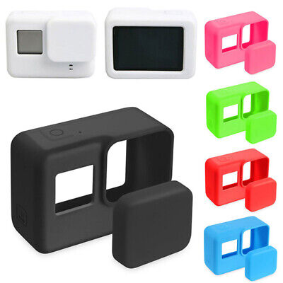 Silicone Case Skin Protector for GoPro Hero 7 6 5 camera with Lens Cap Accessory - Silicon Protector Case