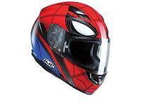 #HJC CS-15 #Spiderman #Marvel comics LTD Helmet - brand new - LARGE - £110! #AGV #ARAI #SHOEI