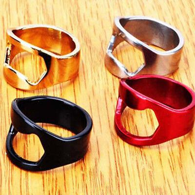 Neue Nette Metall Fingerring Flaschenöffner (Ring Flaschenöffner)