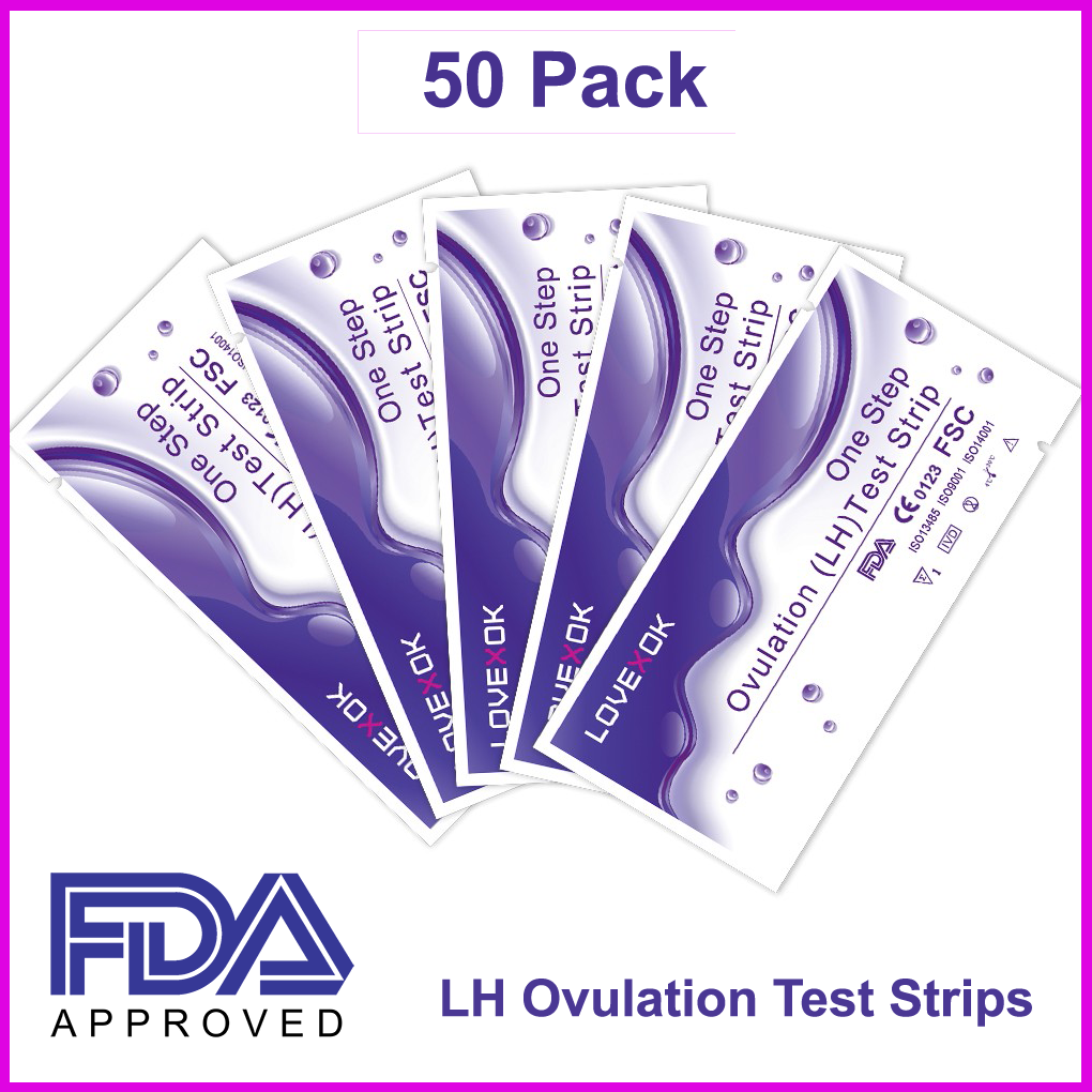 50 pack early detection ovulation hl test