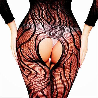 Women Lingerie Body Stockings Nightwear Teddy Long Lace Babydoll Sleepwear HOT - Bodystocking Lace
