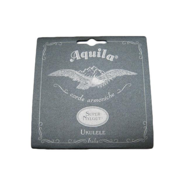 AQUILA UKULELE SUPER NYLGUT STRINGS - SOPRANO REGULAR HIGH G - 100U - KEY OF C