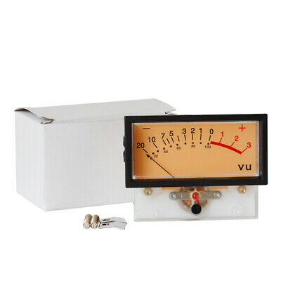 Vu Meter Head Audio Power Amplifier Panel Db Level Led Header