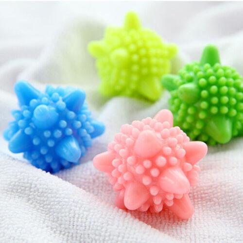 1-10pcs Reusable Tumble Washing Laundry Dryer Balls Clothes